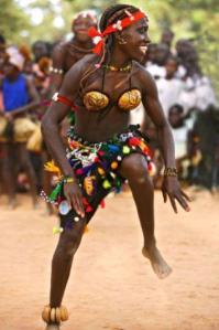 Foto: Carnaval na Guiné-Bissau