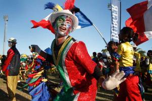 Minstrel's Carnival in Cape Town, 2010.