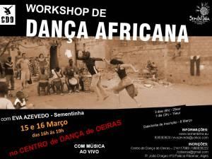 wshop dança africana no C.Dança Oeiras - março 2014