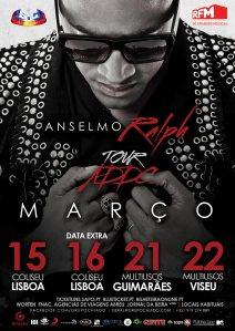 cartaz concerto Anselmo Ralph