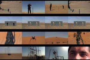 Paradise Metalic, 2014. Vídeo em 4 canais sincronizados.
