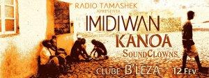 Imidiwan+Kanoa+Soundclowns@Bleza