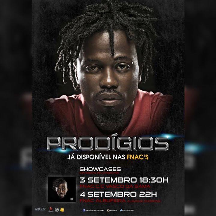 Rapper angolano Prodígio em concerto duplo em Lisboa [QUI, 3 SET e ...