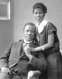Momolu Massaquoi and Fatima