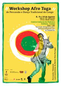 Flyer AfroTuga Agosto